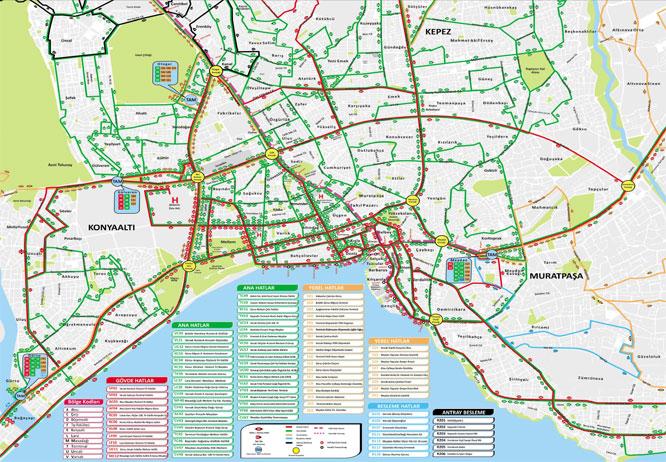 antalya stadtplan